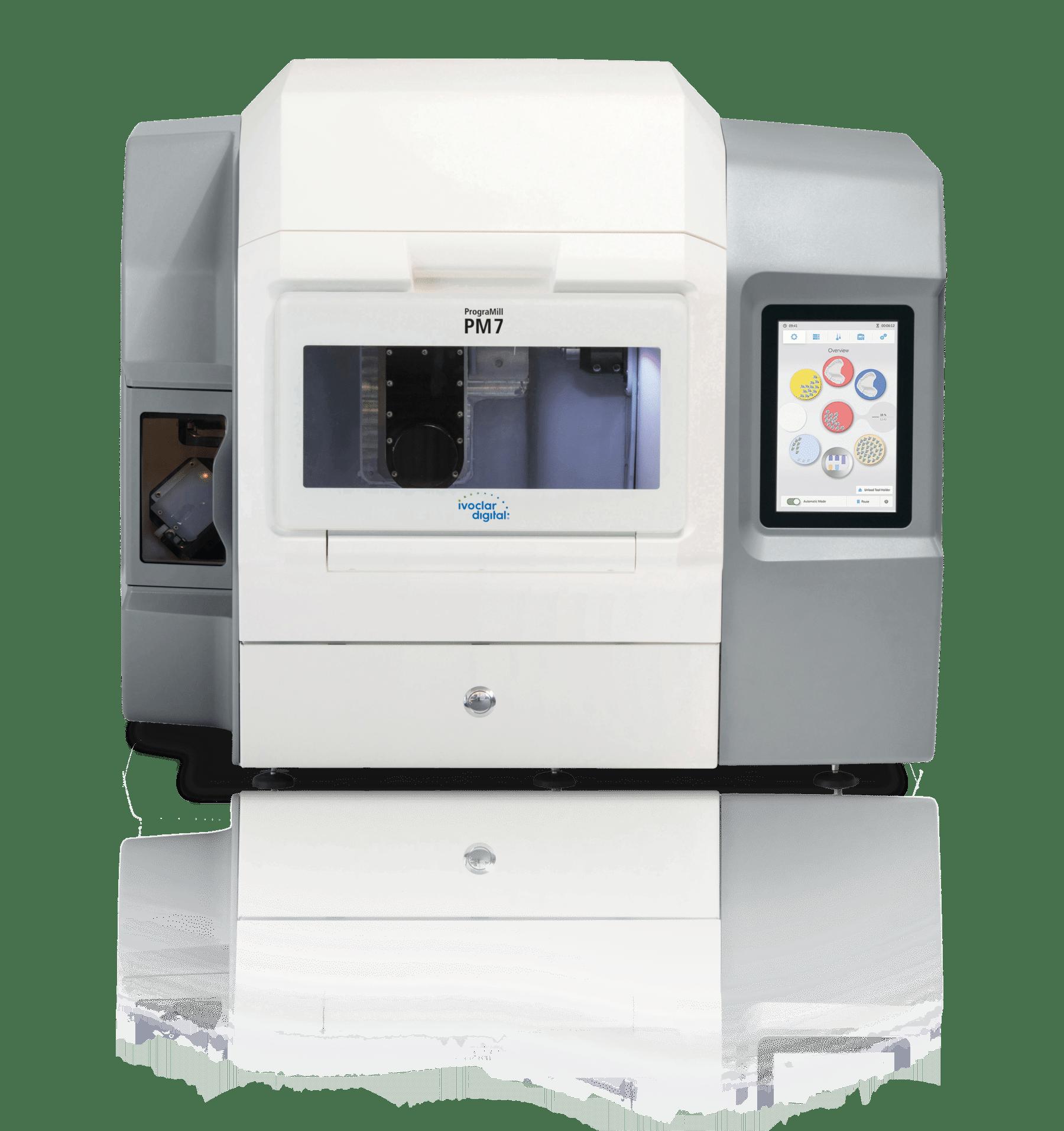 PrograMill PM7 Fräsmaschine Front