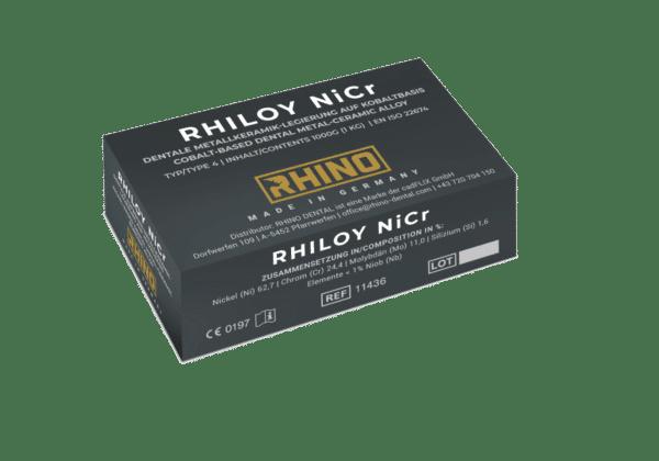 RHINO RHILOY NiCr Aufbrennlegierung
