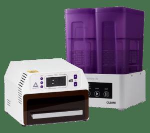 Ackuretta Cleani Waschsystem und UV-Box