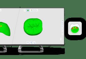 Medit i500 Apps Crown fit